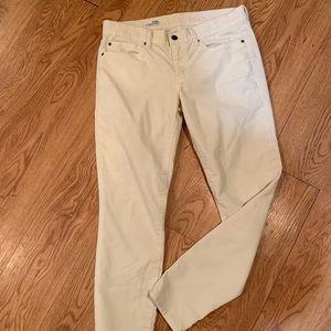 Gap leggings jeans size 8R light corduroy